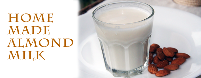Homemade Almond Milk [video/recipe]