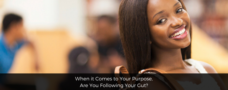 When it Comes to Your Purpose, Are You Following Your Gut? [blog/reflection]