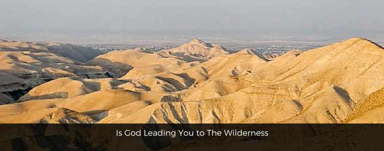Theology Thursdays – Is God Leading You to The Wilderness