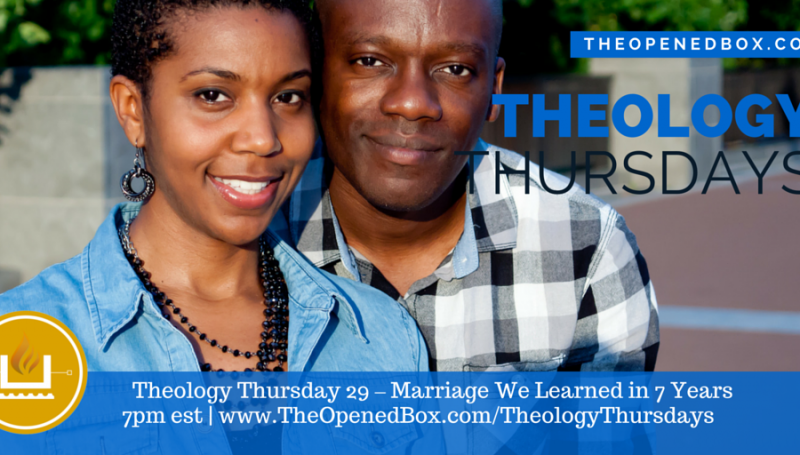 Theology Thursday 29 - Marriage - What We Learned in 7 Years